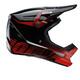 100% Status casco per bici rosso/nero